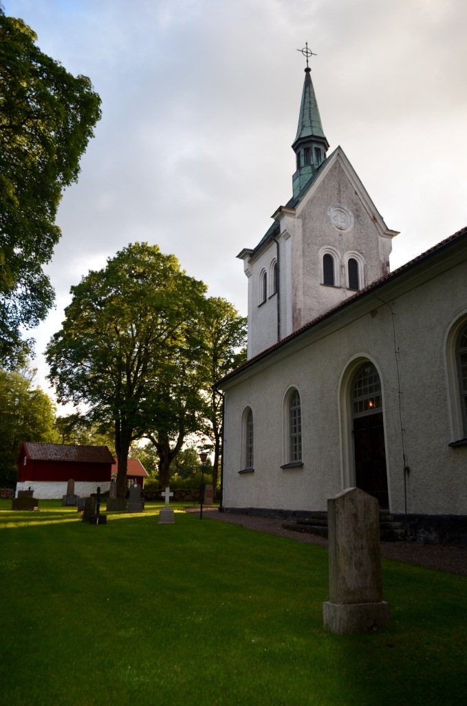 Church where I saw an Norwegian brother and sister play the accordion and harp, mostly Argentinian Tango.  Do I have my countries mixed up or what?