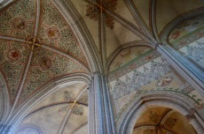 ceiling in Uppsala Cathedral