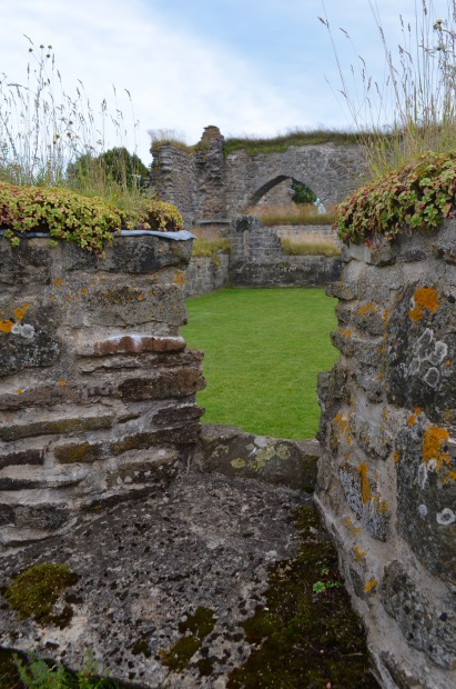ruins from a convent