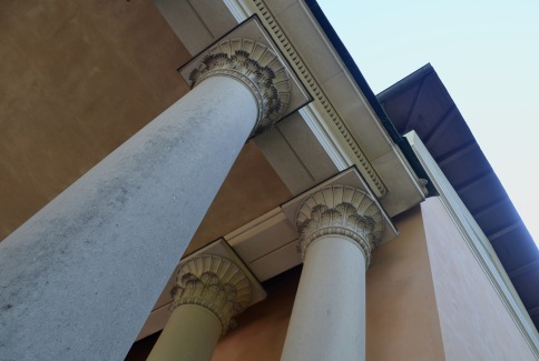 outside details have Egyptian and Roman influence