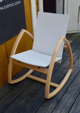 Very comfortable Finnish rocking chair designed by Päivi Mikola- Rock for Peace!!!