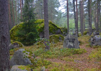 more of the lahti cemetery, so beautiful!