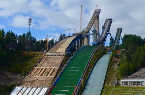 ski jump in lahti