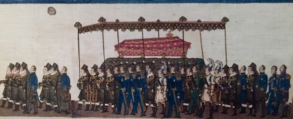 royal funeral procession