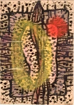 kusama early drawing