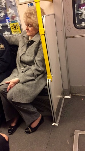 I just feel like this lady knows everything about life. and her green eye shadow is stellar