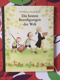 Book about animal burials in Deutsch for Kinder