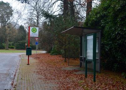a bus stop