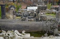 sculpture graveyard